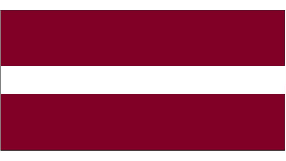 Flag for Latvia