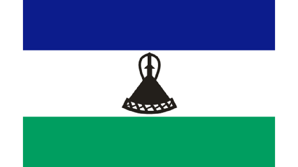 Flag for Lesotho