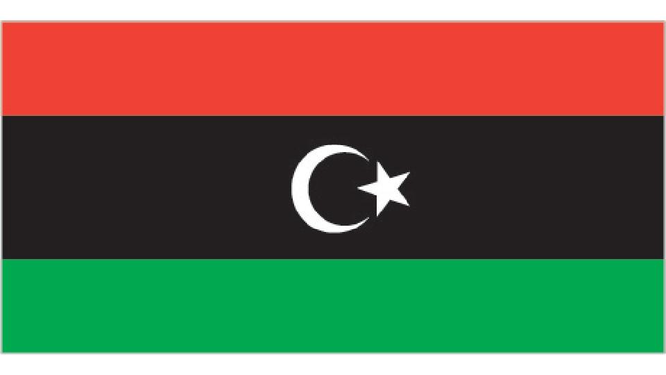 Flag for Libya