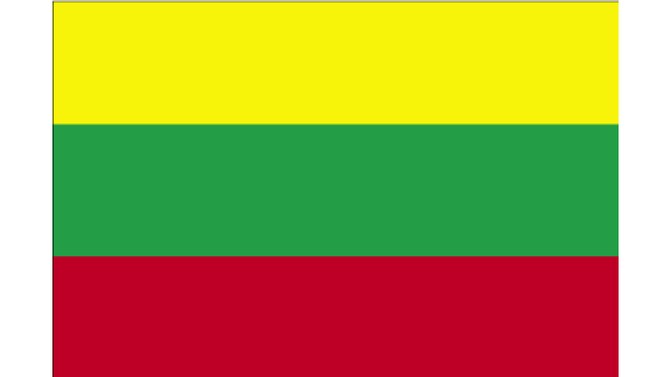 Flag for Lithuania