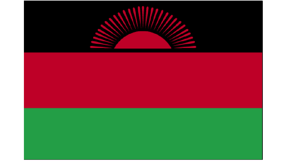 Flag for Malawi