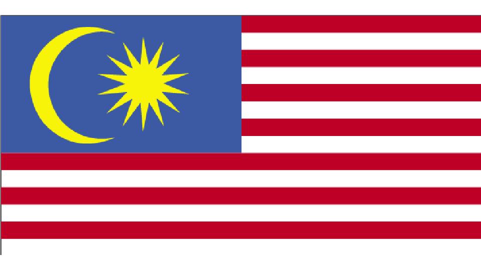Flag for Malaysia