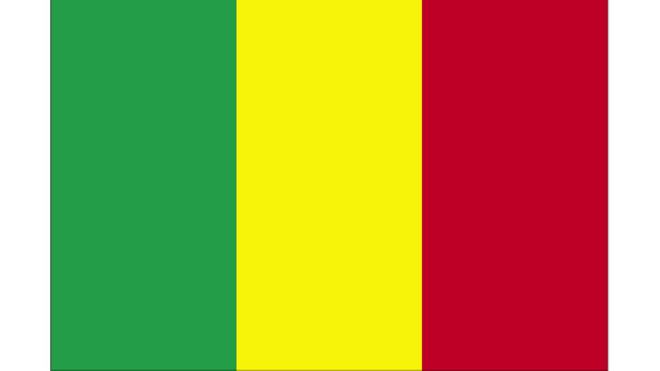 Flag for Mali