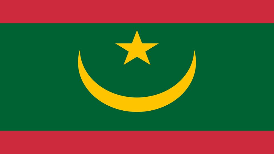 Flag for Mauritania