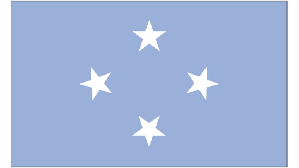 Flag for Federated States of Micronesia