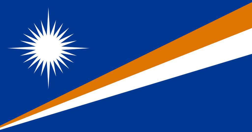 Flag for Marshall Islands