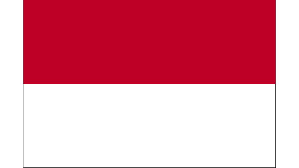 Flag for Monaco