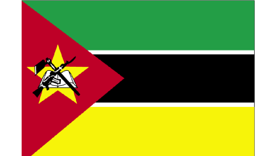 Flag for Mozambique