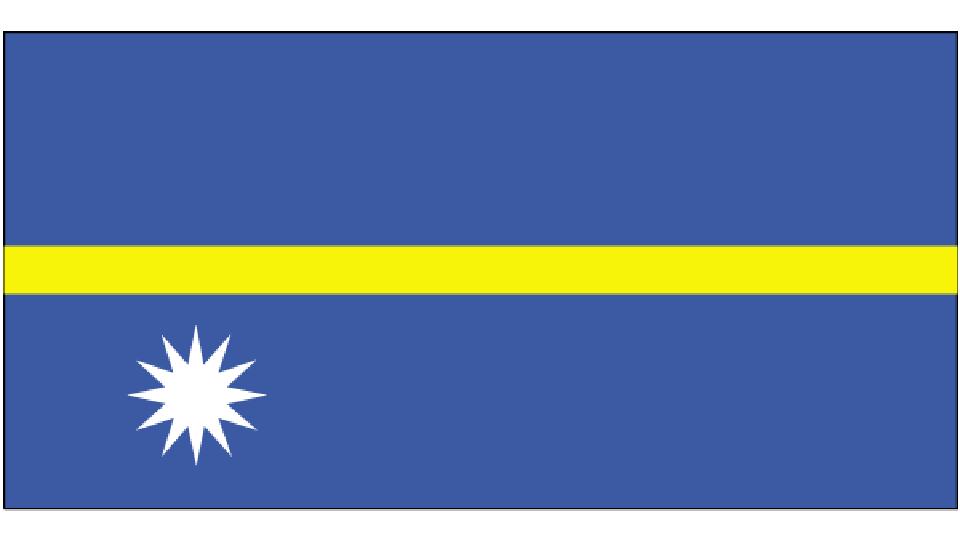 Flag for Nauru