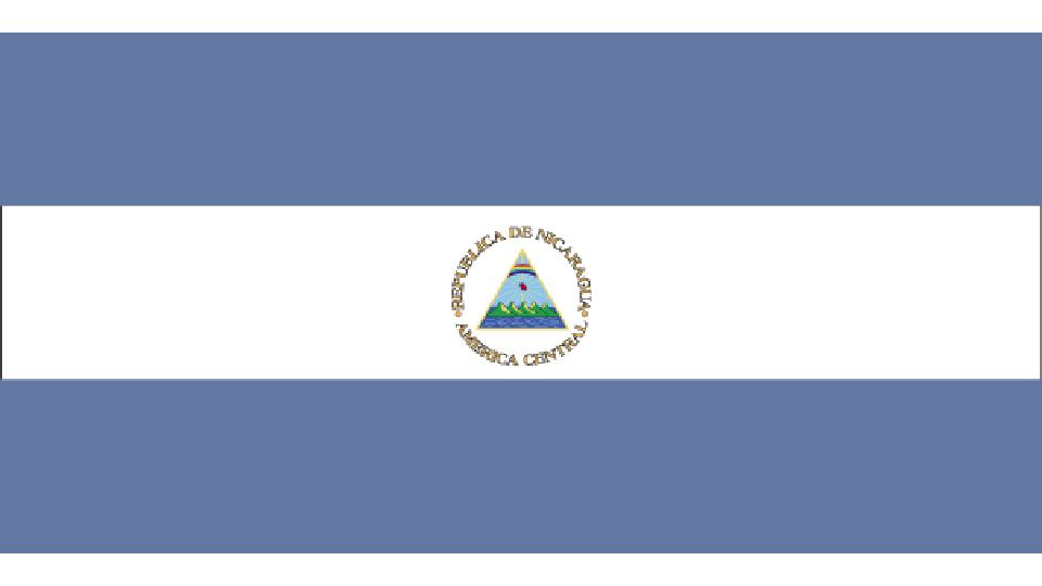 Flag for Nicaragua