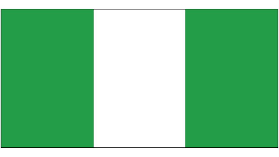 Flag for Nigeria