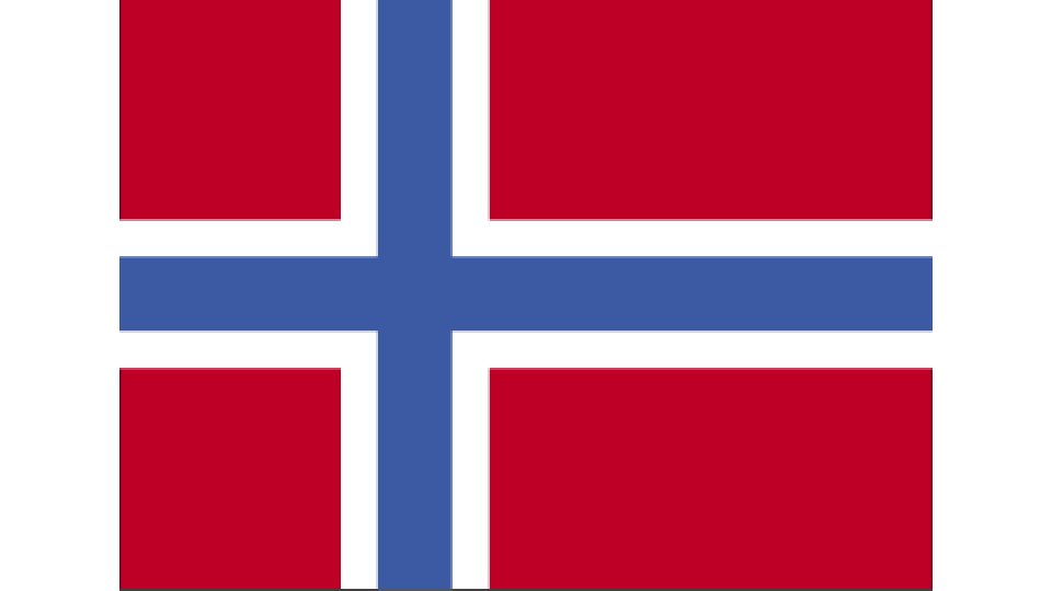 Flag for Norway