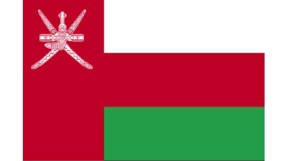 Flag for Oman