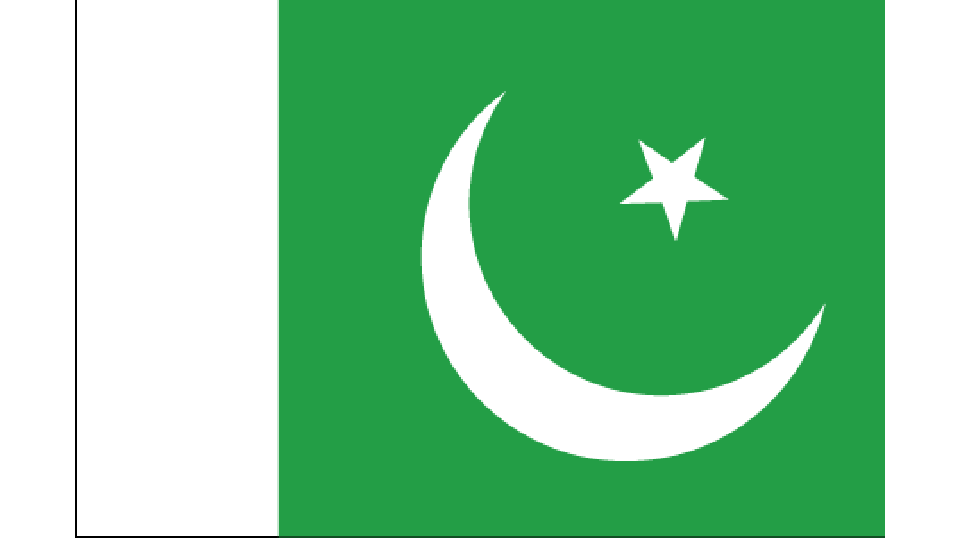 Flag for Pakistan