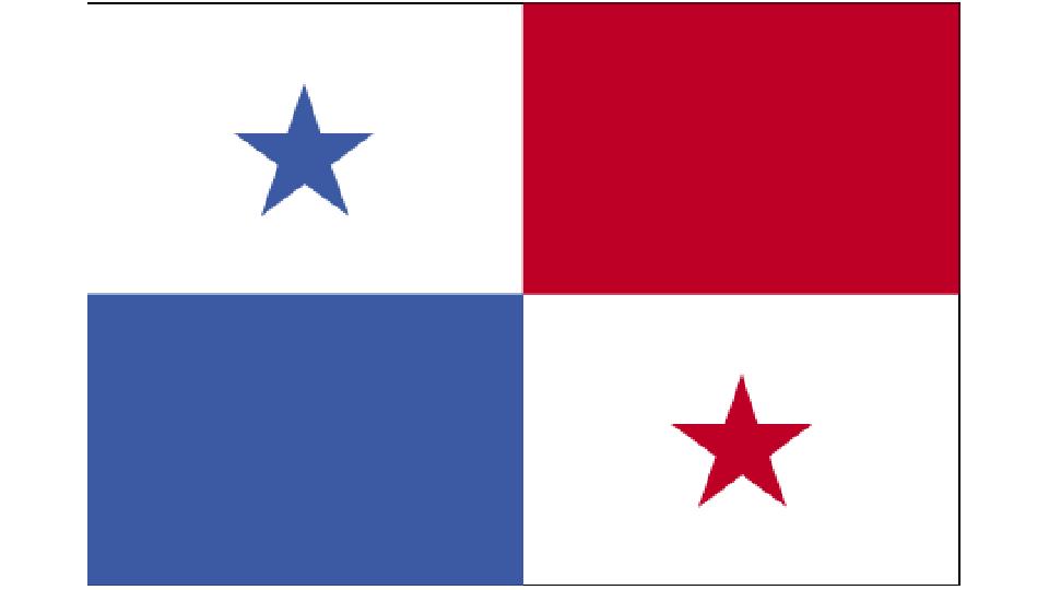 Flag for Panama