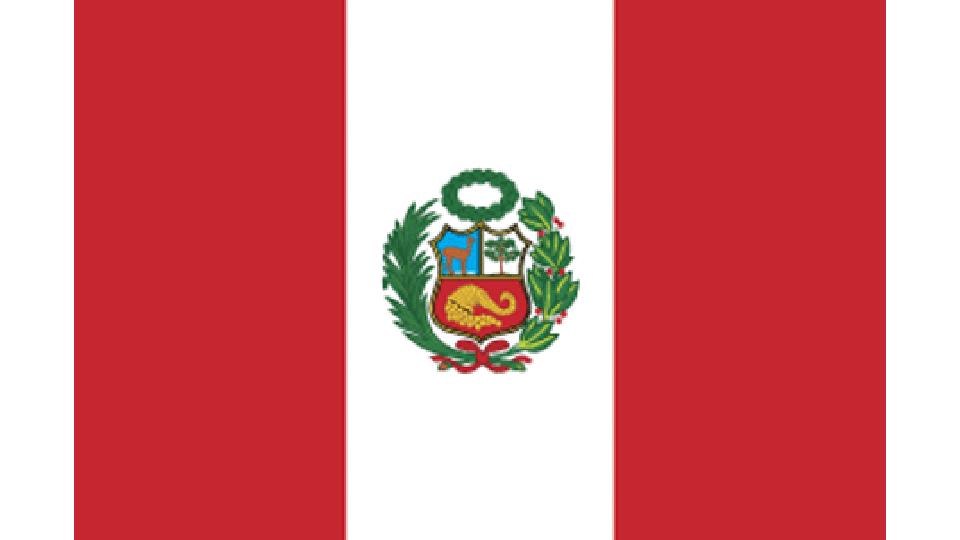 Flag for Peru