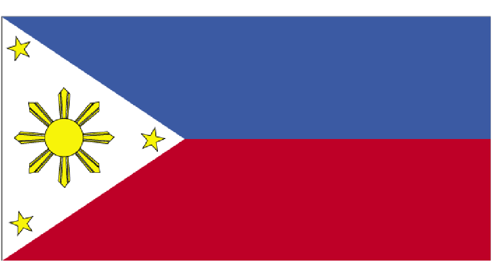 Flag for Philippines