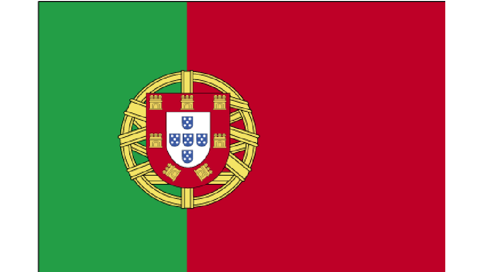 Flag for Portugal