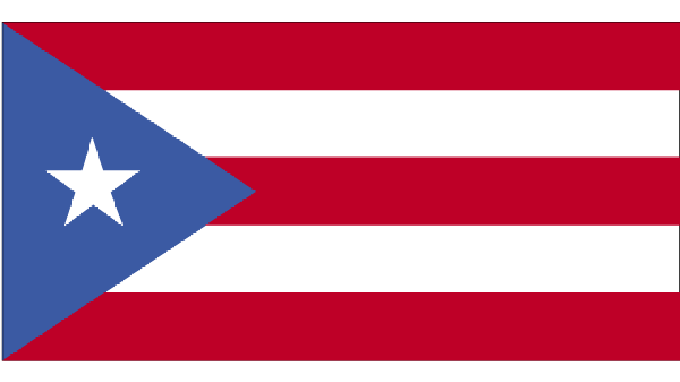 Flag for Puerto Rico