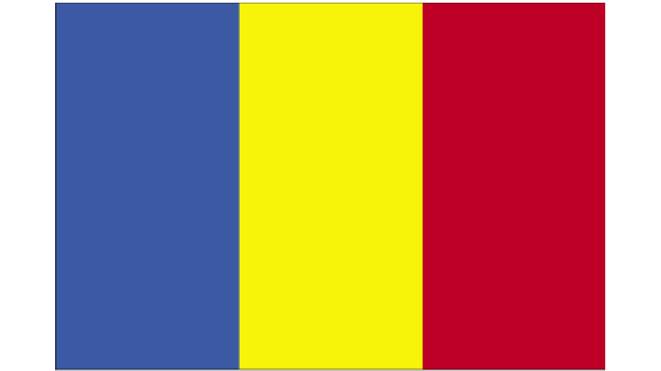 Flag for Romania