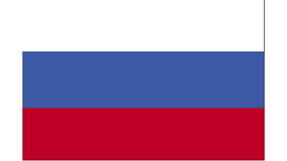 Flag for Russia