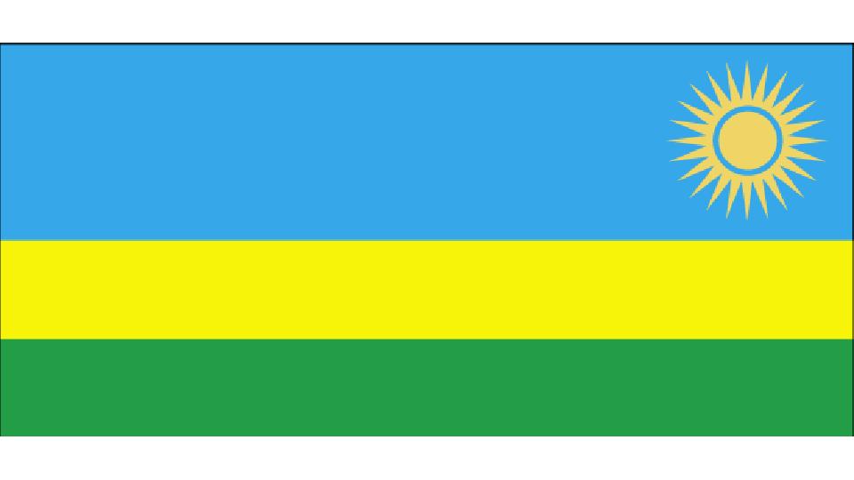 Flag for Rwanda