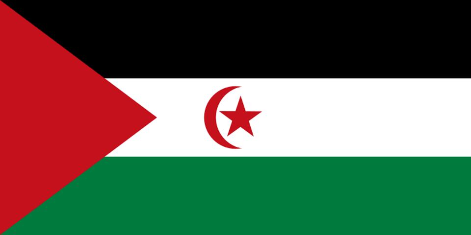 Flag for Western Sahara