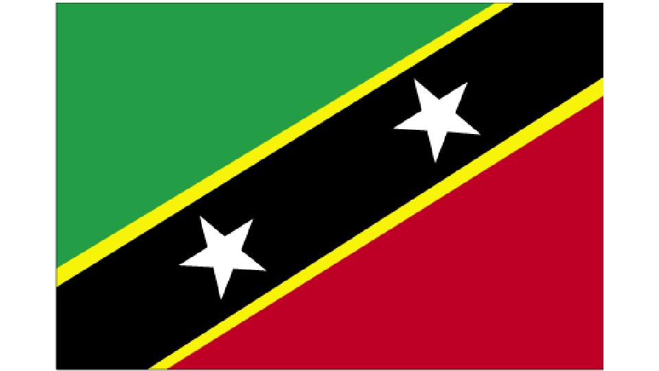 Flag for Saint Kitts & Nevis