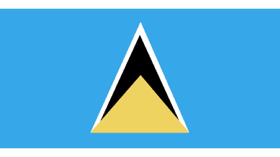 Flag for Saint Lucia