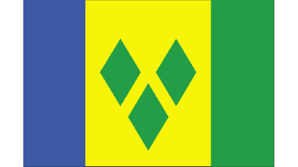 Flag for Saint Vincent