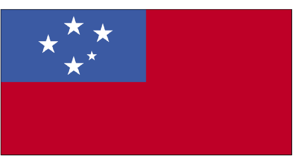 Flag for Samoa