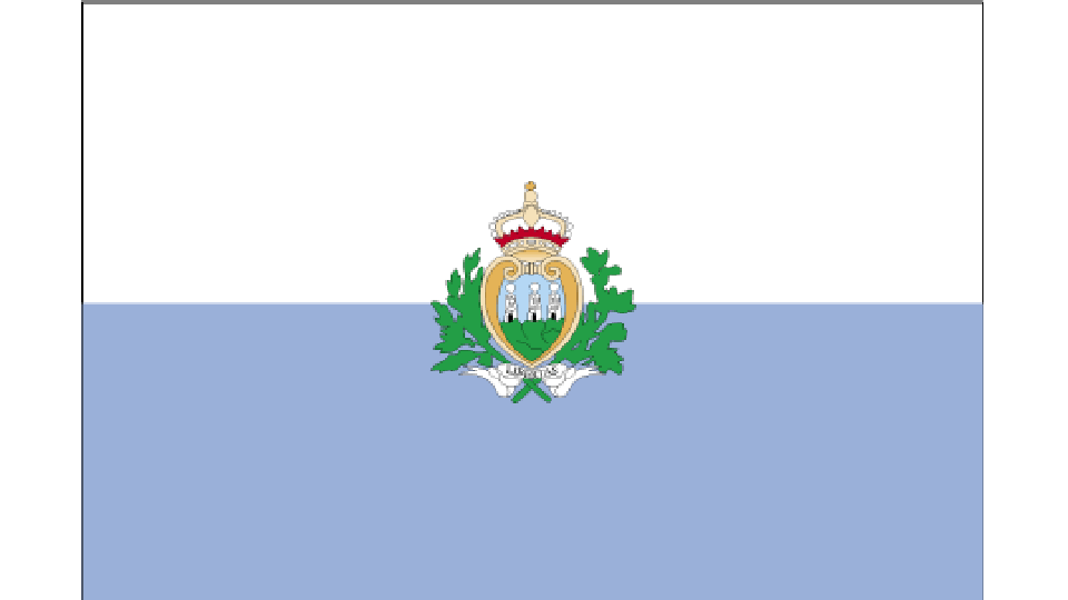 Flag for San Marino