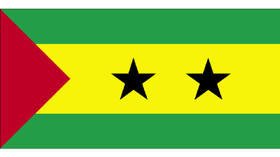 Flag for Sao Tomé & Principe
