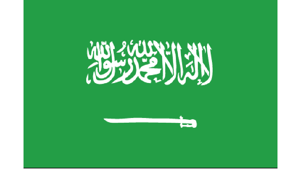 Flag for Saudi Arabia