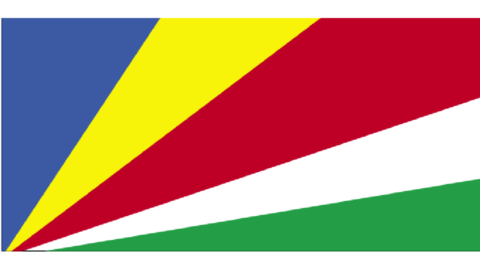 Flag for Seychelles