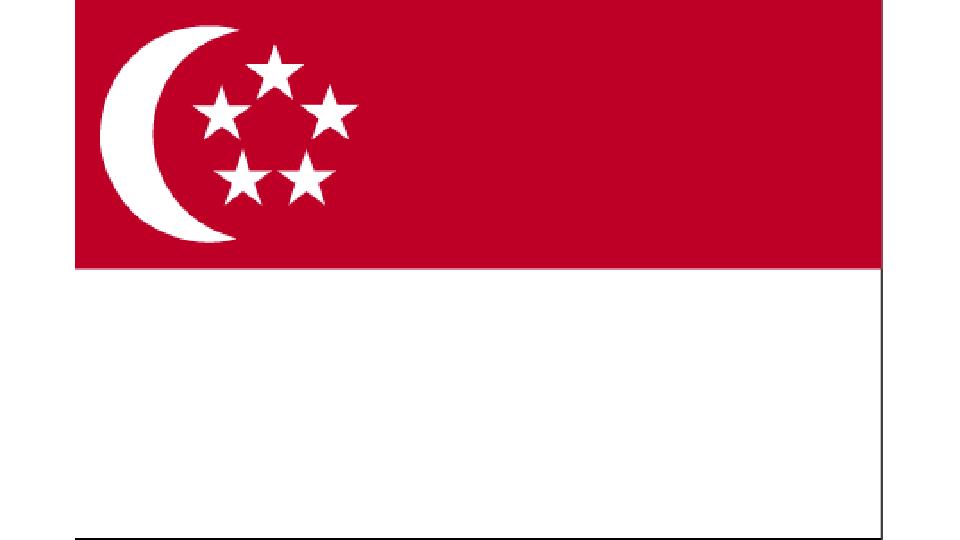 Flag for Singapore