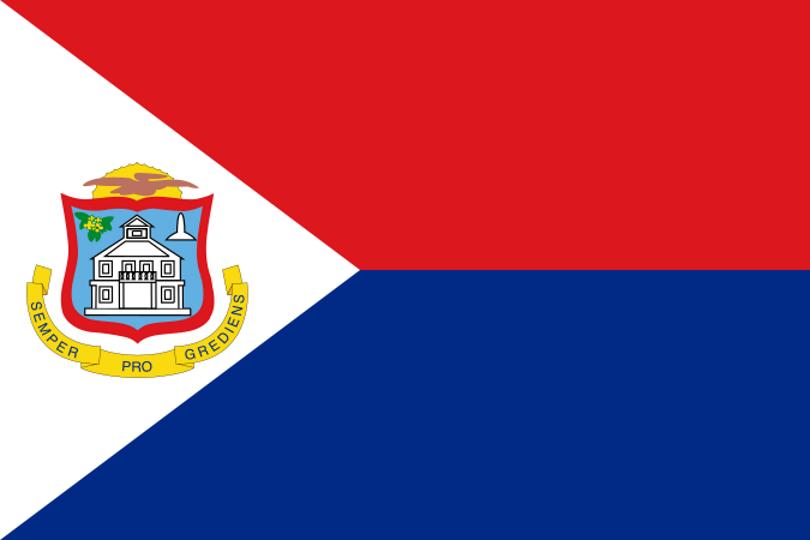 Flag for Sint Maarten