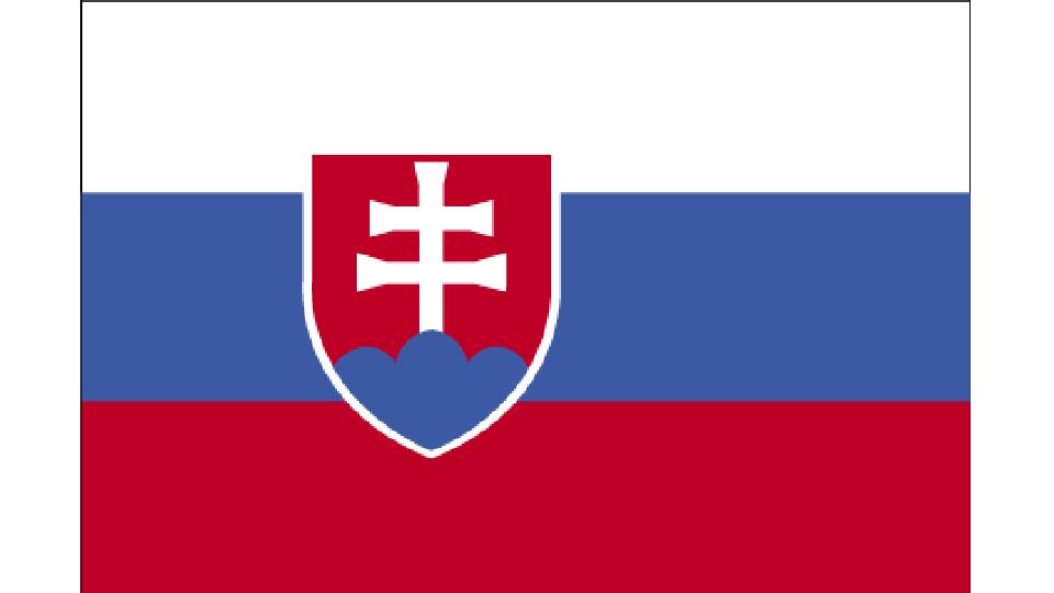 Flag for Slovakia