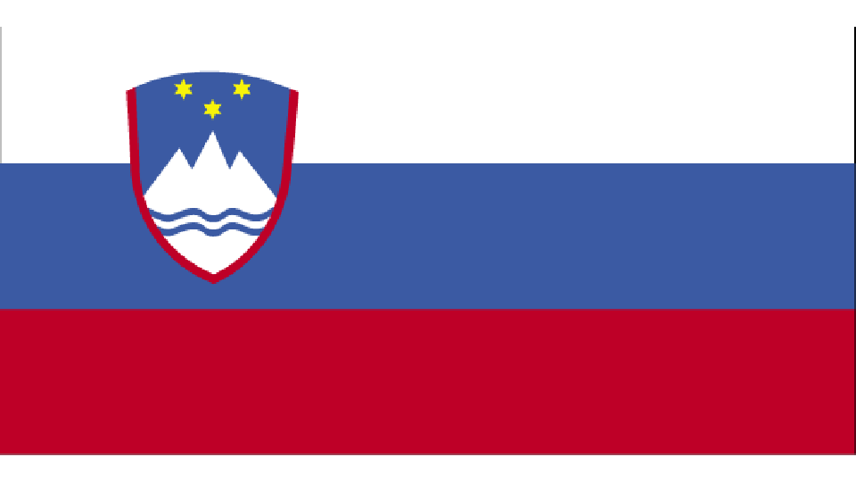 Flag for Slovenia