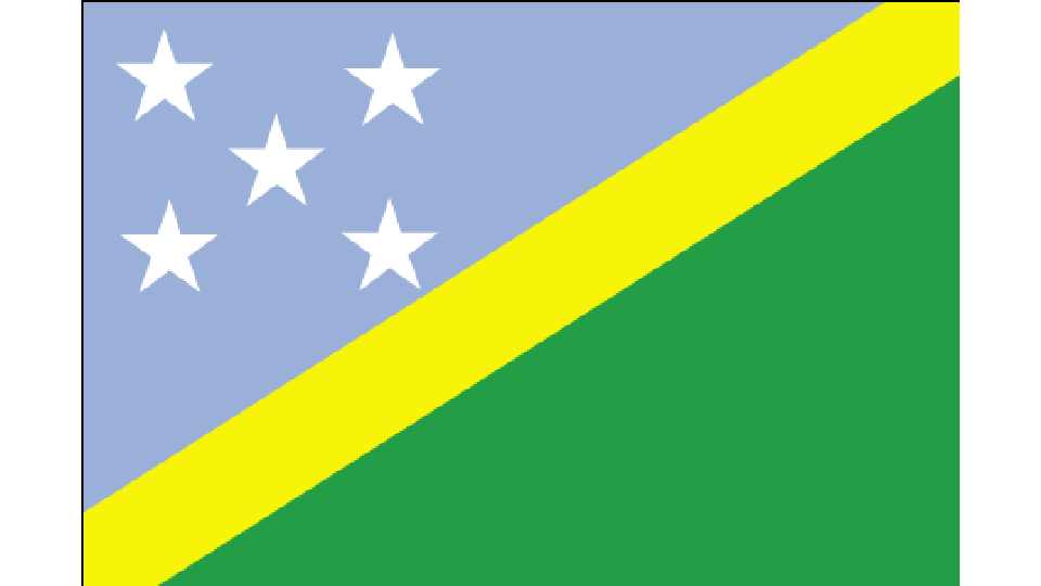 Flag for Solomon Islands