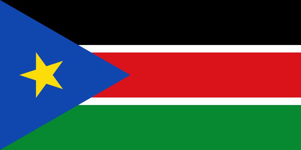 Flag for South Sudan