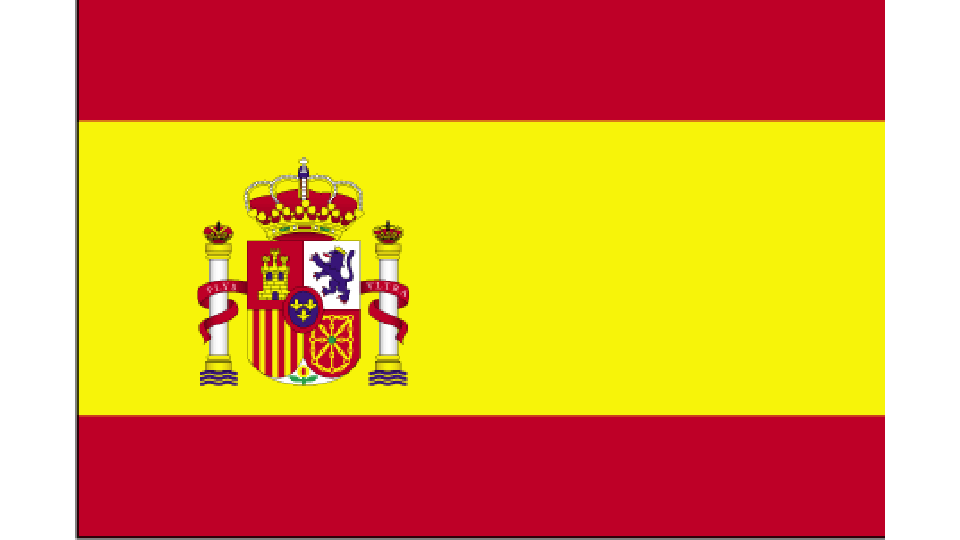 Flag for Spain
