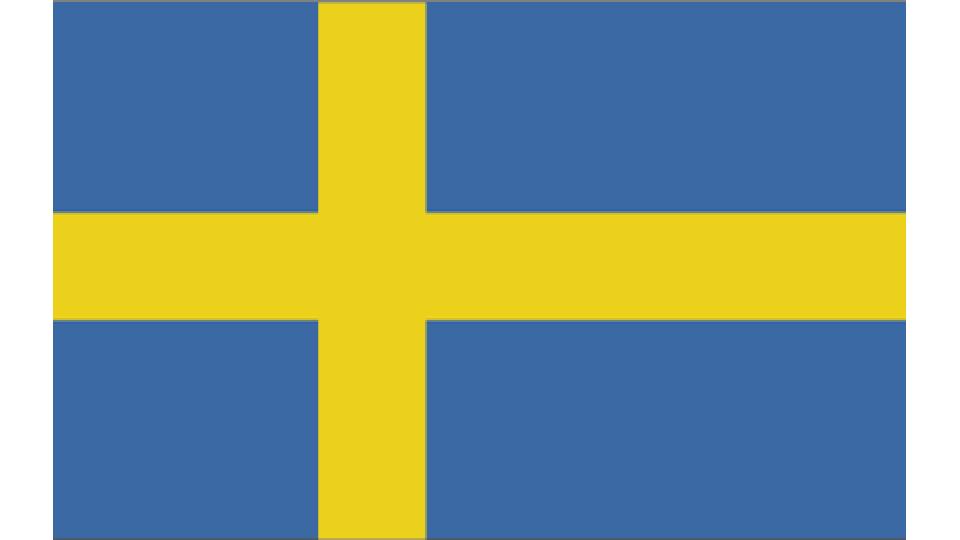 Flag for Sweden