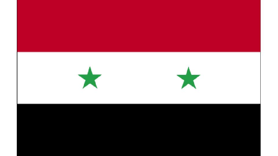 Flag for Syria