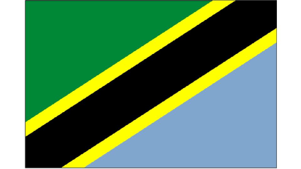 Flag for Tanzania