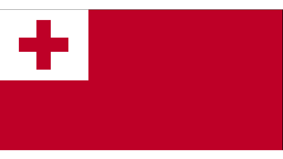 Flag for Tonga