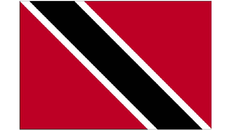 Flag for Trinidad & Tobago