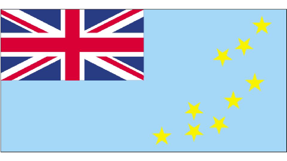 Flag for Tuvalu