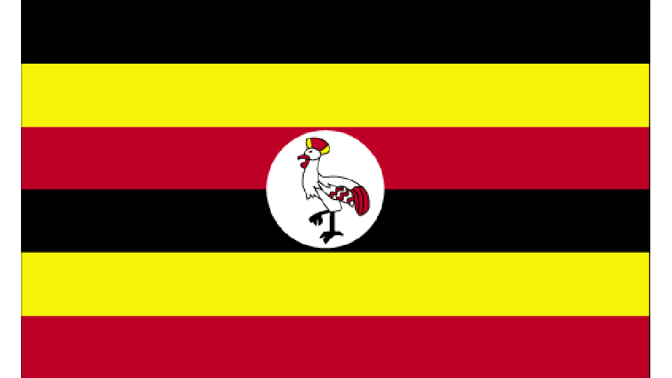Flag for Uganda