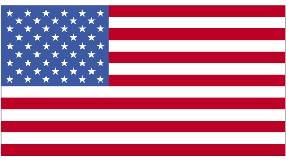 Flag for United States of America